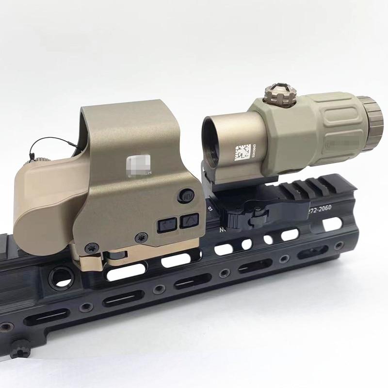 أعلى التكتيكية الادسنس التبعي EXP-S3 G33 3X المكبر التصوير المجسم البصر ريد دوت الصيد التبعي