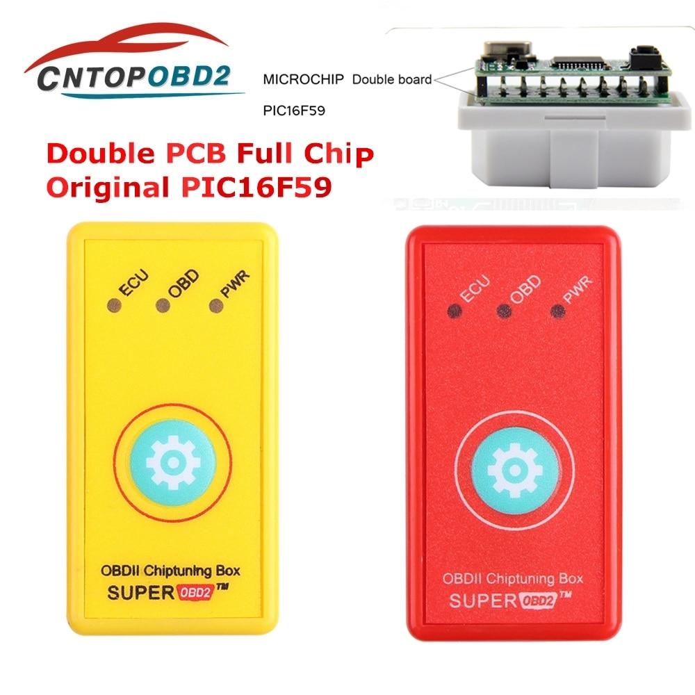SuperOBD2 чип-тюнинг OBDII интерфейс разъем и привод OBD для дизельного топлива экономит больше мощности крутящего момента, чем NitroOBD2 EcoOBD2
