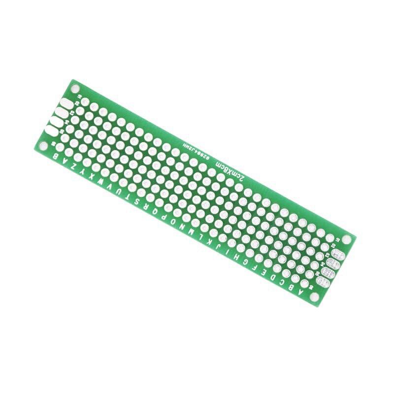 20 teile/los 5x7 4x6 3x7 2x8cm Double Side Prototyp Diy Universal gedruckt Schaltung Platine Protoboard Für Arduino