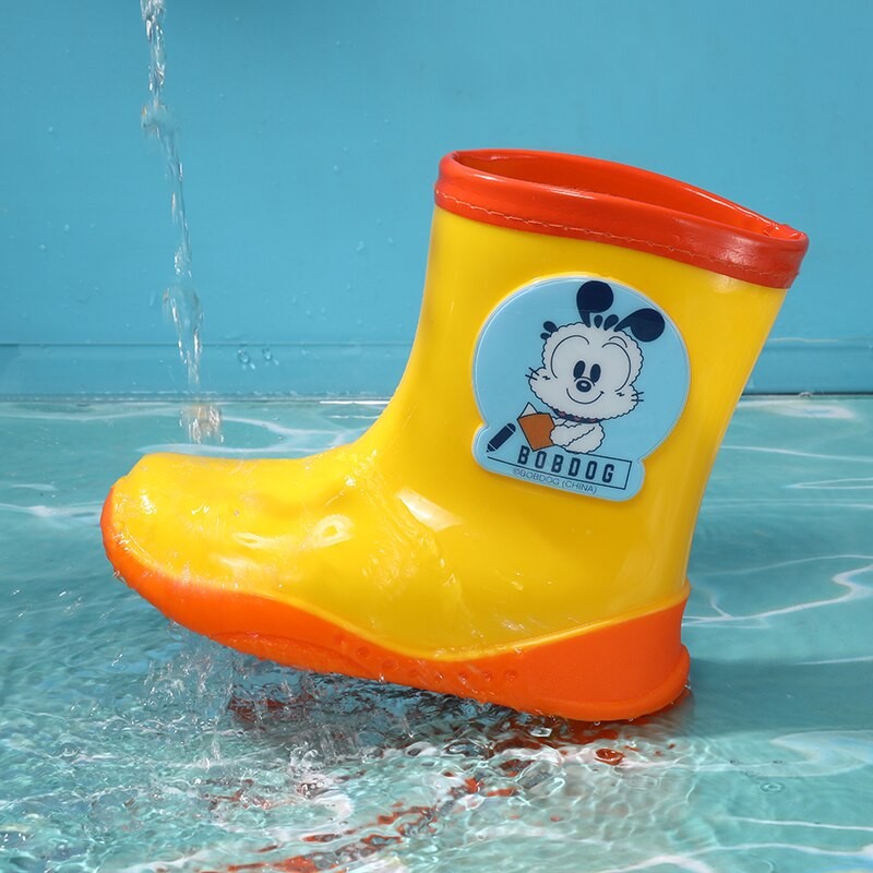 New Fashion Child Water Boots Non-Slip Rubber Kids Cartoon Shoes Children's Water Shoes Waterproof Rain Shoes enlarge