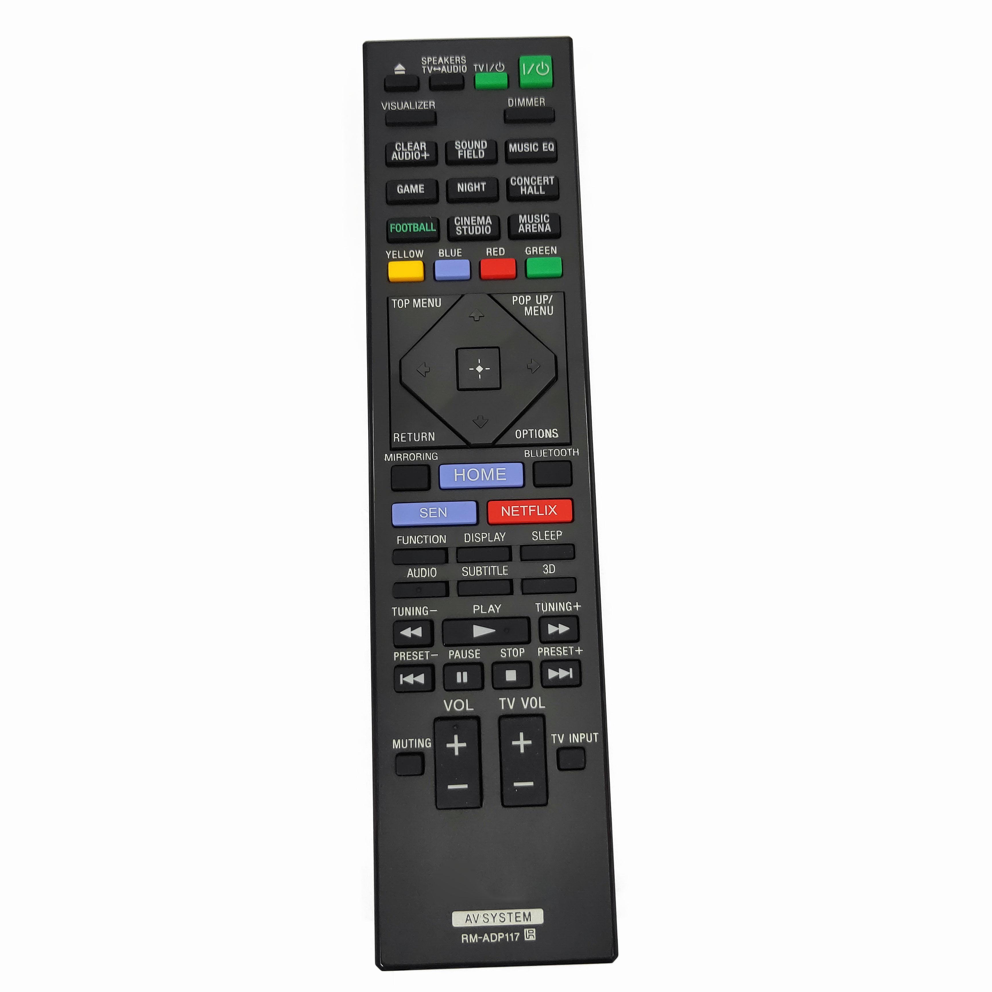 Nuevo Replcement RM-ADP117 para Sony sistema de cine en casa de control...