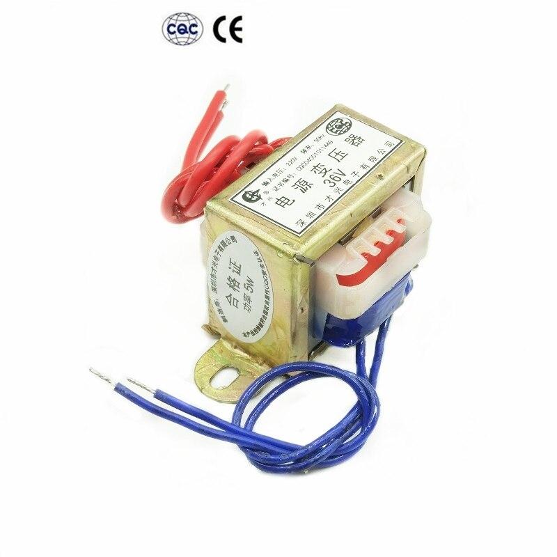 EI41-5W transformator 220V bis 6 V/9 V/12 V/15 V/18 V/ 24V AC AC fuß power DB-5VA Dual spannung (ausgang 3 drähte)