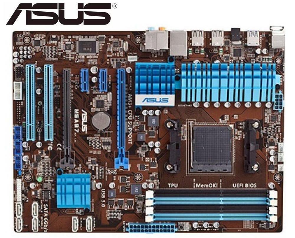 Placa base DDR3 original para ASUS M5A97, para AMD AM3 + USB2.0,...
