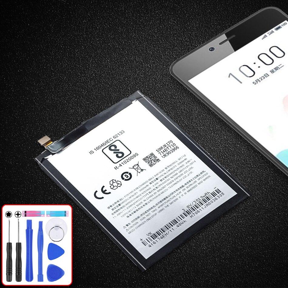 Reemplazo de batería de teléfono móvil BT710 para Meizu azul A5 BT710 M5c M710M M793Q 3060mAh