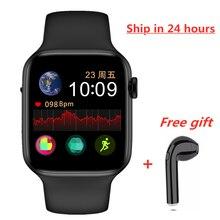 DEHWSG IWO 10 W34 IWO 8 Max montre intelligente hommes femmes série 5 iw8 Lite Smartwatch fréquence cardiaque ECG pour IOS Android livraison directe rapide
