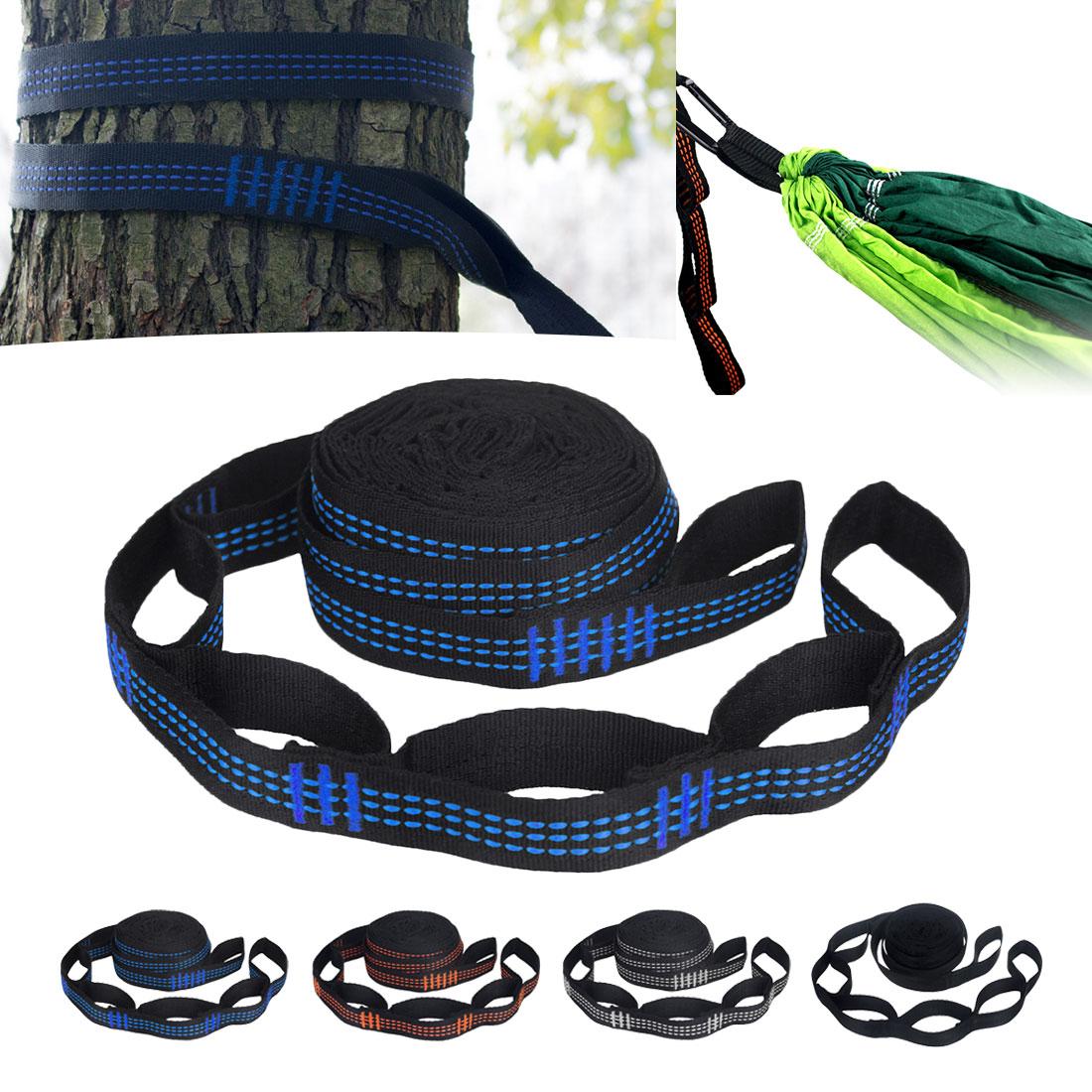 Vitorhytech Adjustable Hammock Strap Hanging Aerial Spare Part Hammock Belt Outdoor Yoga Camping Hammock With Buckle Rope