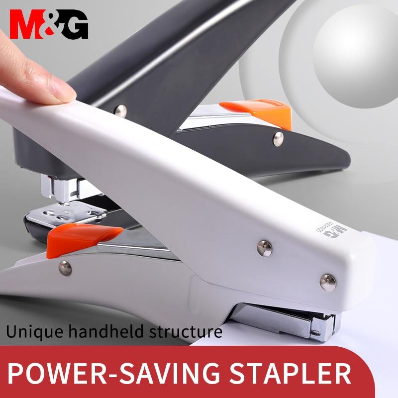 M & G 25 страниц ручной металлических степлеров легкое сшивание бумаги скобами машина для школьные канцелярские принадлежности