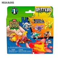 mega bloks mega breakout monsters series 1 spitters toy for children insect beast reptile