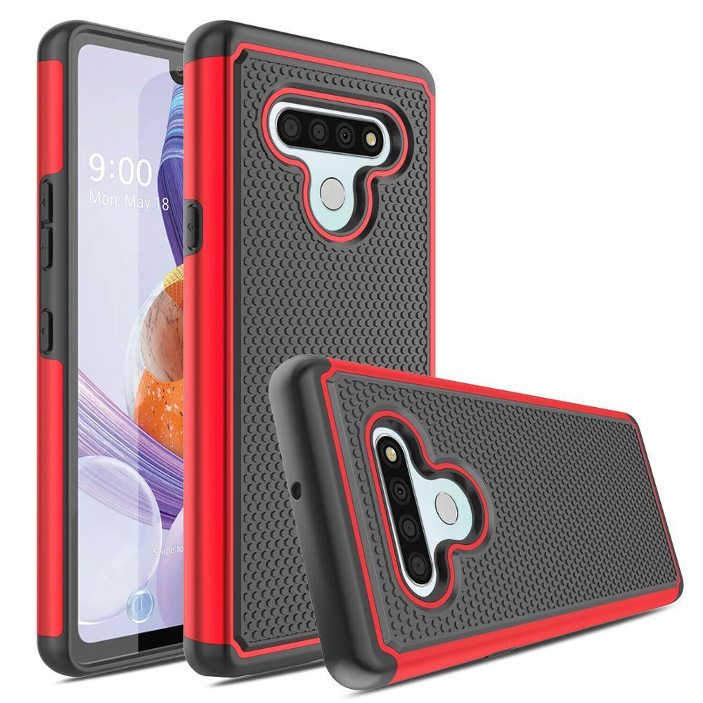 Funda de teléfono a prueba de golpes para Stylo 6 Stylo 5 Stylo 4 LG K40 K30 2019 LG Aristo 4 + LG G8 funda híbrida resistente para LG K40 G8