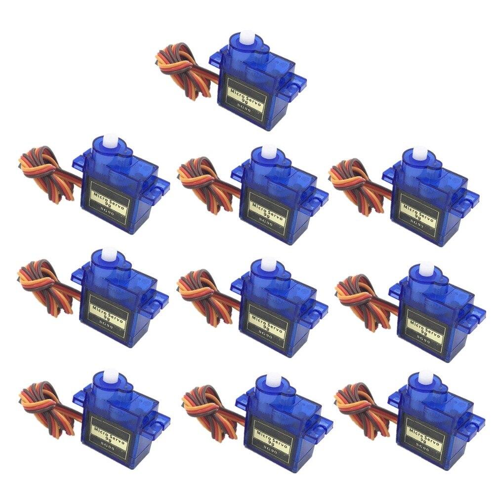 5/10 unids/lote 100% nuevo al por Large SG90 9G микро мотор