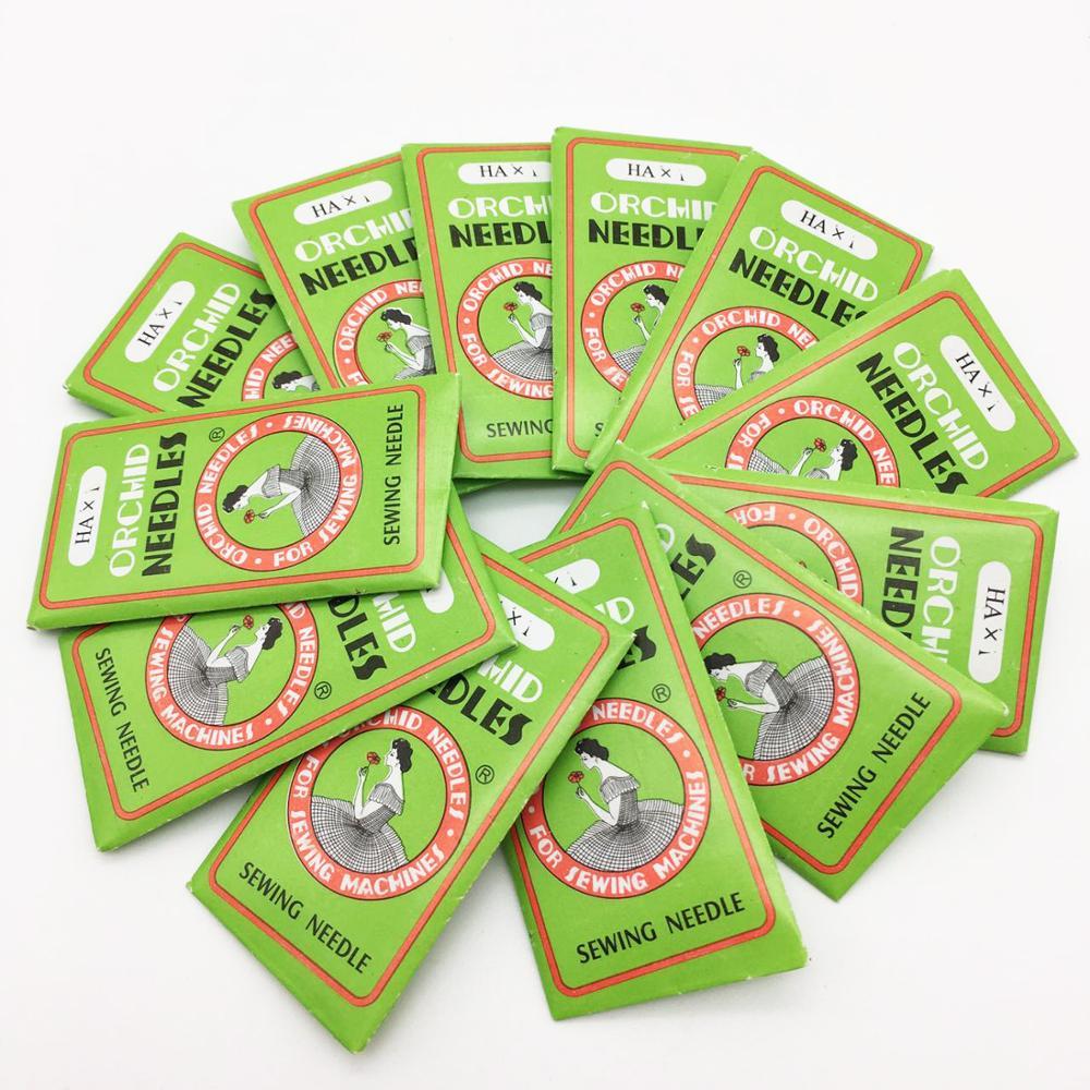 14 # agulhas de costura rosqueamento kit misturado universal máquina de costura acessórios para máquina 50 pçs/lote