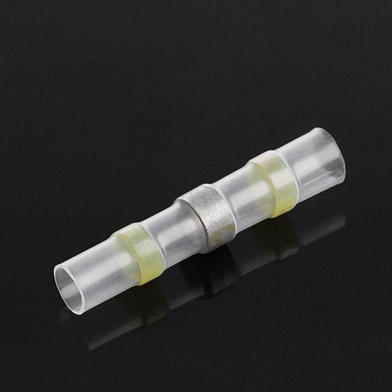 40 Uds 4 tamaños envoltura de soldadura tubo de encogimiento de calor Terminal de cable conectores impermeable 40JA