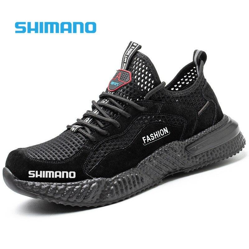 Shimano الصيف تنفس المنبع أحذية ماء الرجال الهواء شبكة درب أحذية رياضية للرجال المضادة للانزلاق الصيد الرحلات حذاء للسير مسافات طويلة 39-45