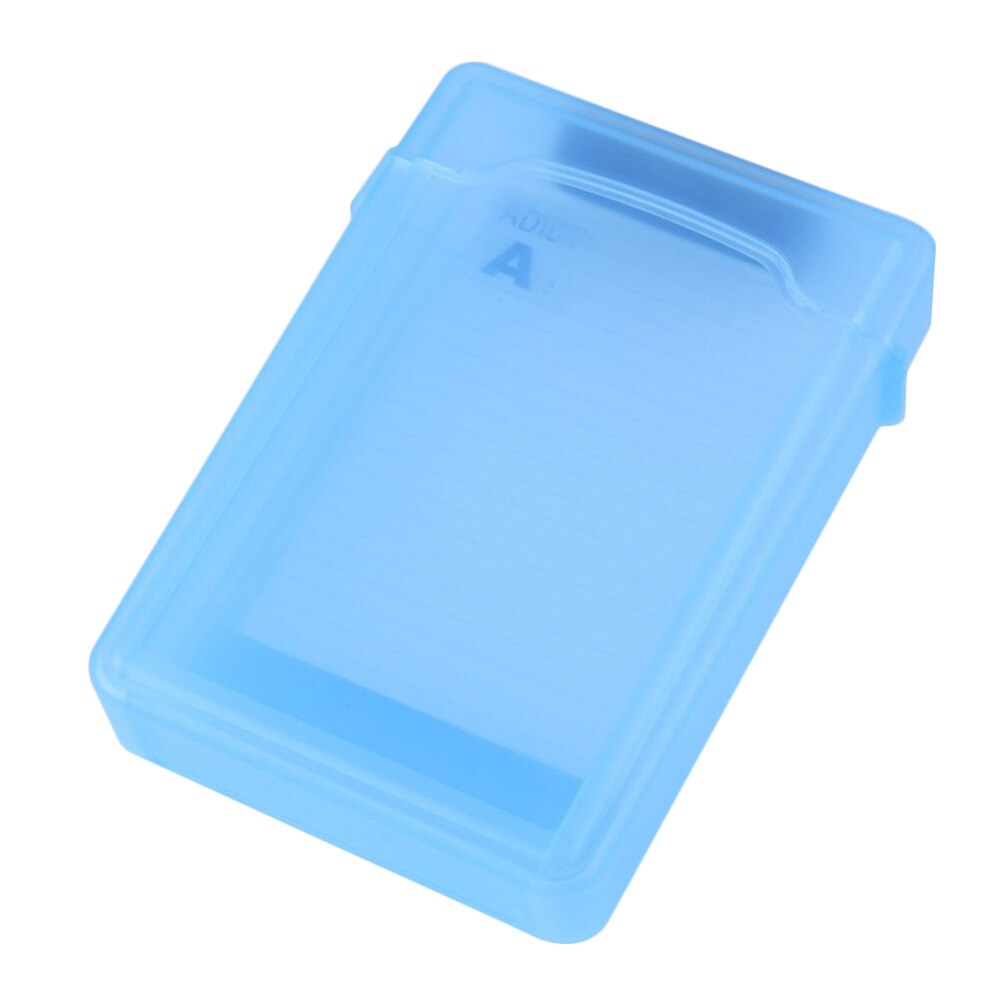 "Shockroof caixa de disco rígido hdd caixa de protetor para 3.5 ""ide sata disco rígido proteger caso hdd caixa de armazenamento caso"