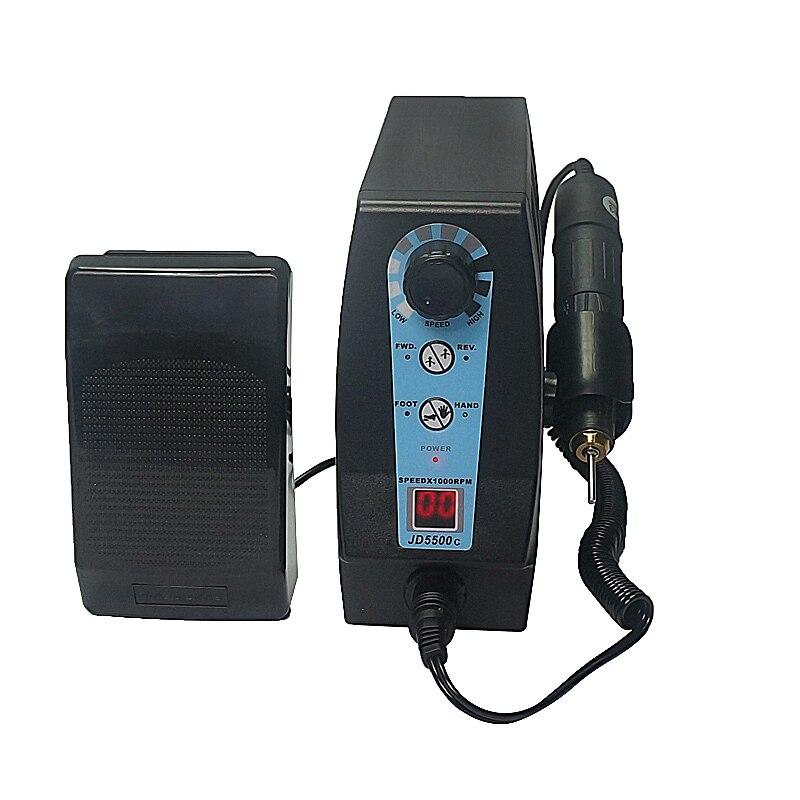 35000 RPM 220V 120 Watt Jsda Elétrica Prego Broca Manicure Pedicure Máquina de Trituração