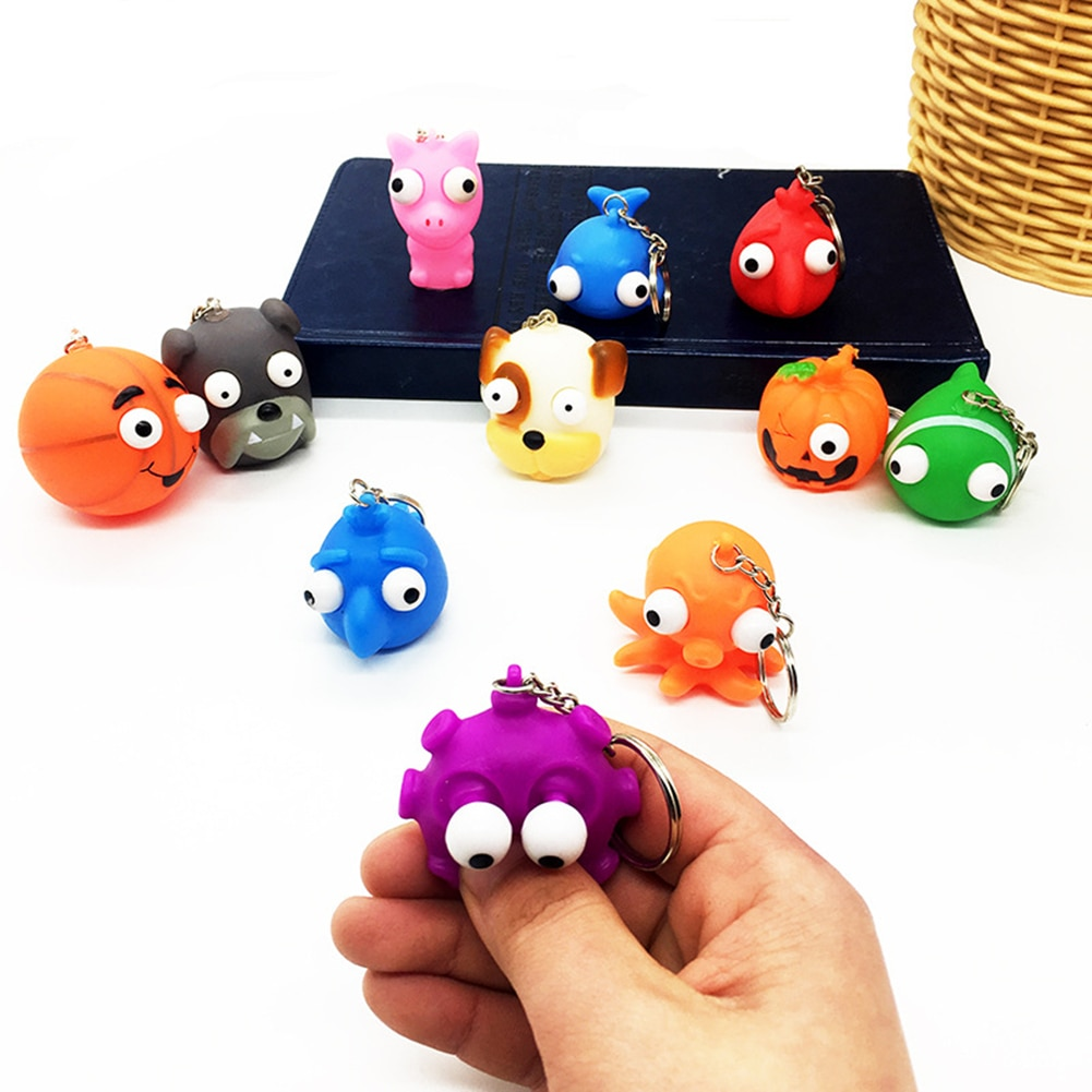 Bubble Pop Fidget Toys Kawaii Owl Shell Reliver Anti Stress Relief Sensory Toys Gift For Adults Children Decompression Toys AYM enlarge