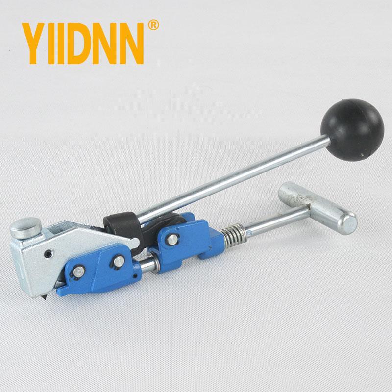 كماشة مواسير مسبقة الصنع من الفولاذ المقاوم للصدأ ، آلة تثقيب وشد الأنابيب ، مشبك حزام ، ملاقط مركزية YDBT008