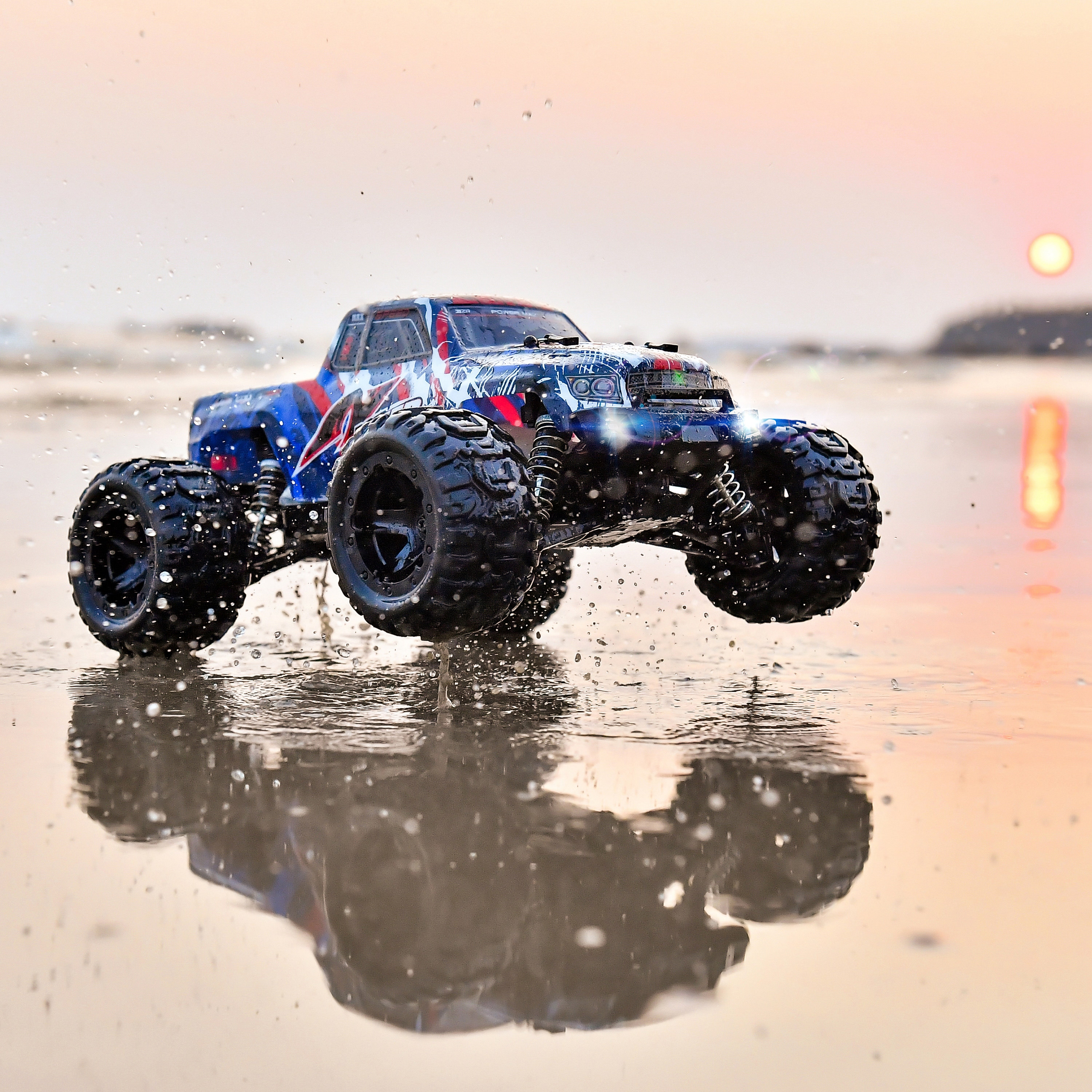 BEZGAR HM161 Hobby RC Car 1:16 All-Terrain 40Km/h Off-Road 4WD Remote Control Monster Truck Crawler with Battery for Kids Adults enlarge