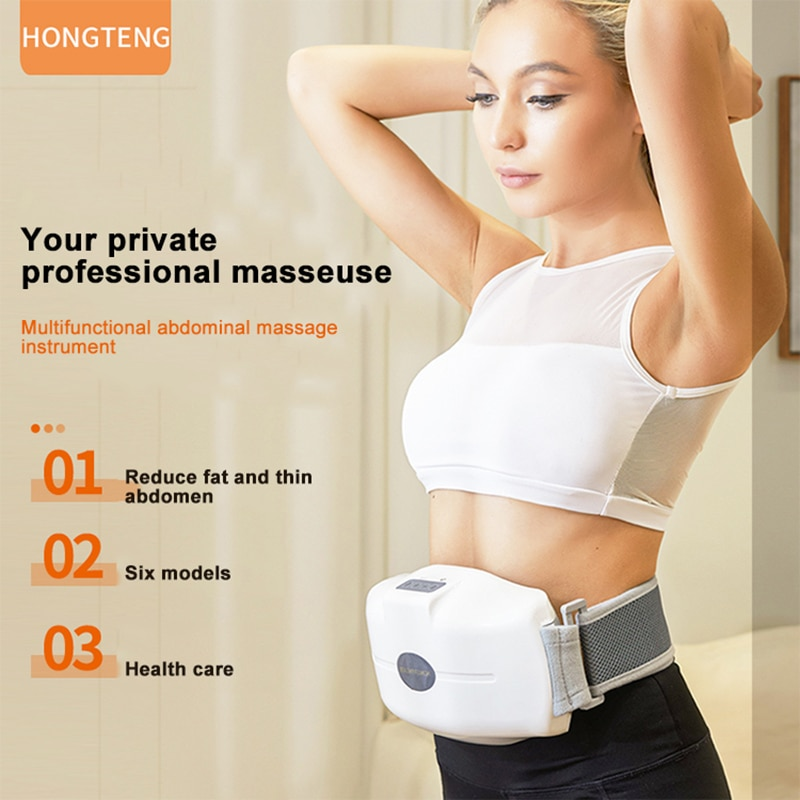 good muscle mascara USB Abdominal Massager Muscle Movement Electric Stimulator Good Health Slimming Belt Belly Training  Acupuncture Vibrator