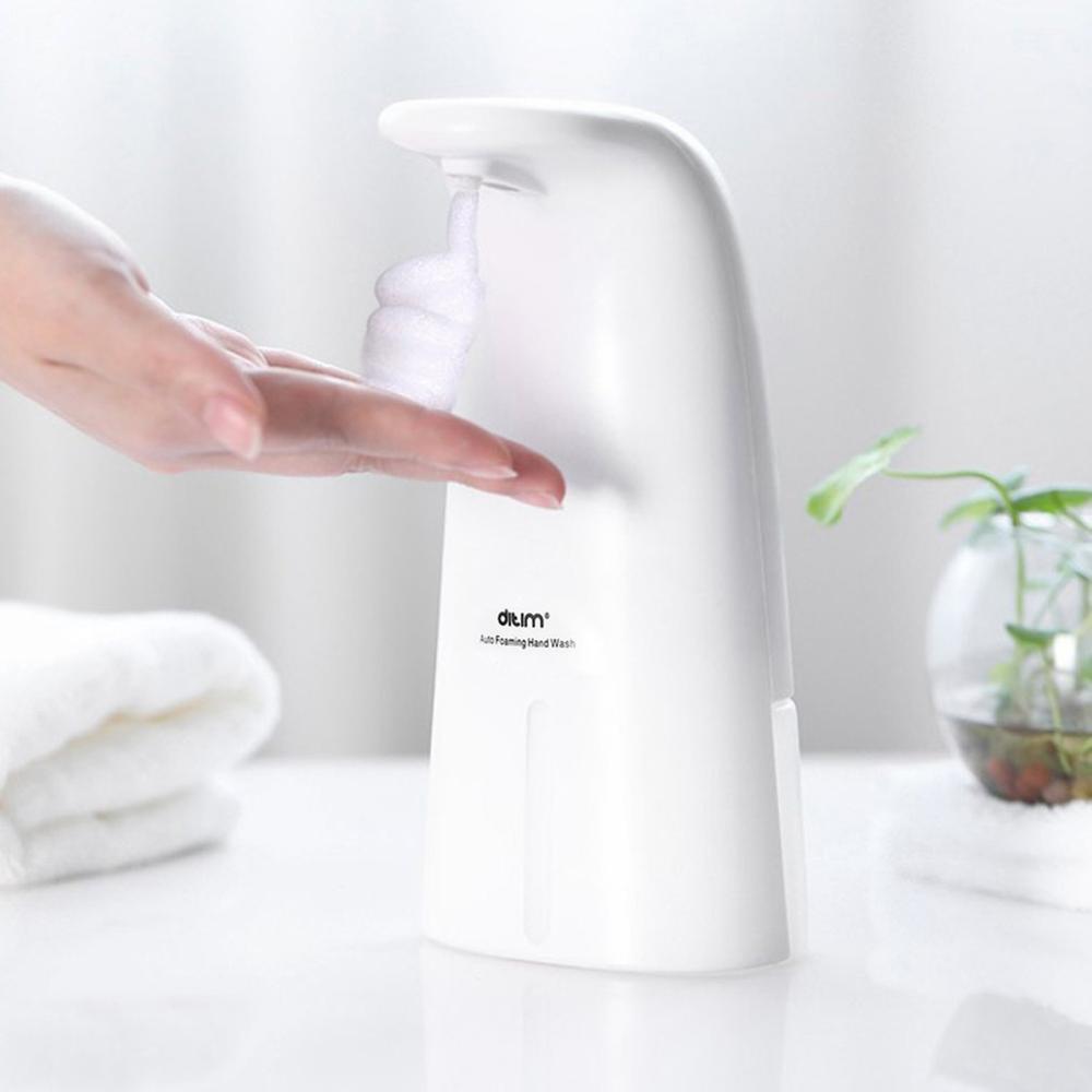 Dispensador automático de jabón, dispensador inteligente de jabón por inducción líquida, distribuidor de jabón con Sensor infrarrojo para el hogar