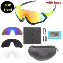 Top marque F-J 4 lentilles vélo lunettes de soleil vélo rouge polarisé lunettes de cyclisme Sport briquet Cycle lunettes Foxe sagan lazer cube D