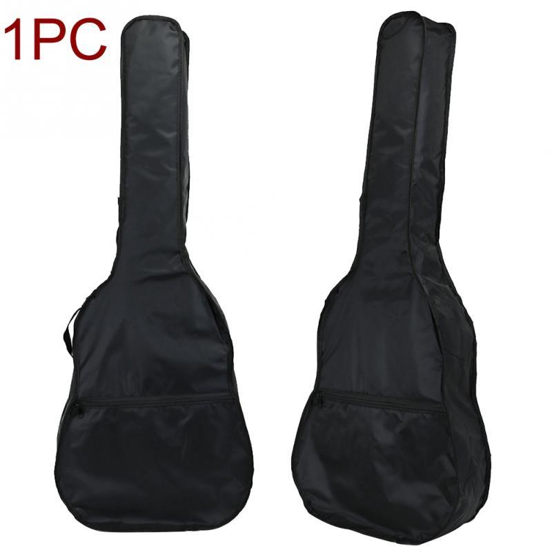 40 / 41 Inch Guitar Bag Carry Case Backpack 600D Oxford Acoustic Folk Guitar Gig Bag Cover with Double Shoulder Straps