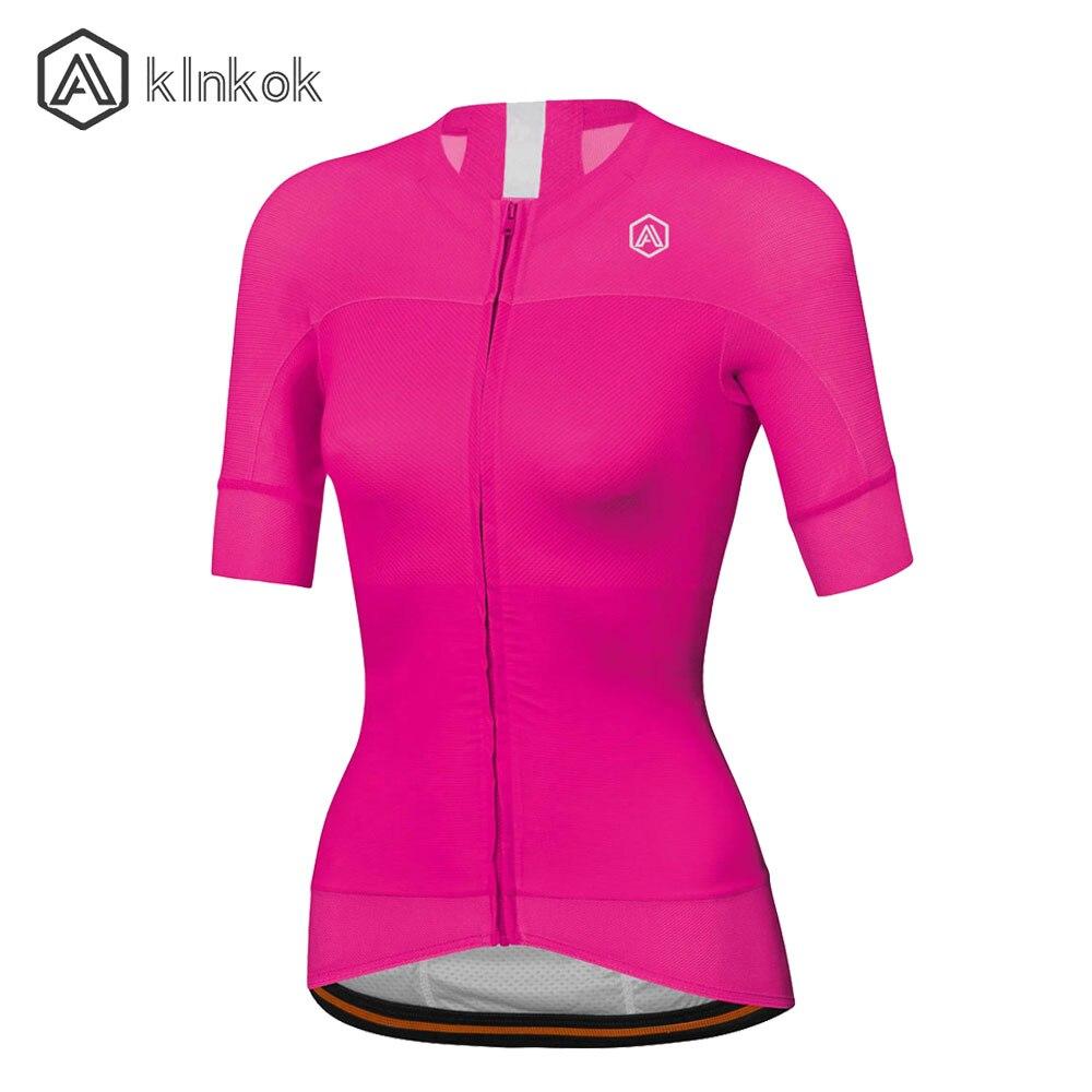 Jersey de ciclismo para mujer, novedad de 2020, camisetas de ciclismo, manga corta, secado rápido, ropa deportiva de color brillante para mujer