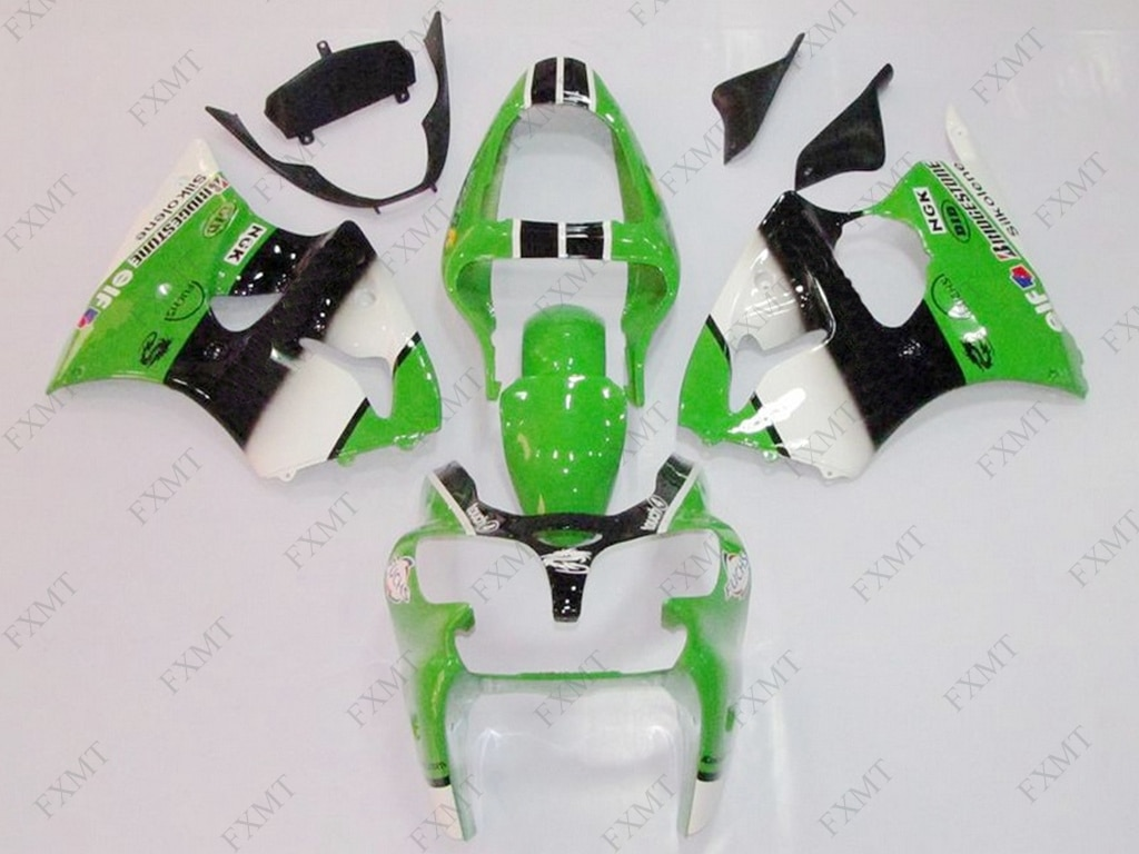 Motorcycle Fairing ZX6r 636 2001 Fairing Ninja ZX-6r 2000 Body Kits ZX6r 636 2000 - 2002 Fairings