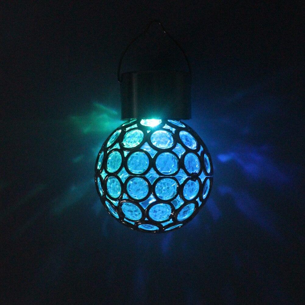 Solar Lights Outdoor Luces Led Romantic Starry Night Decoracion Magic Ball Lamp гирлянда Hand Camping Tent Light LED фонарь
