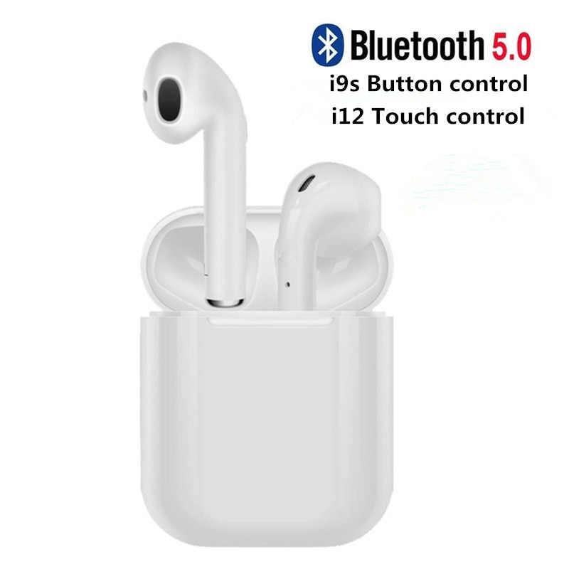I12 TWS Bluetooth Kopfhörer i9s Mini Kopfhörer Drahtlose Ohrhörer Bluetooth Headset mit Lade Box für Smart Telefon Auriculars