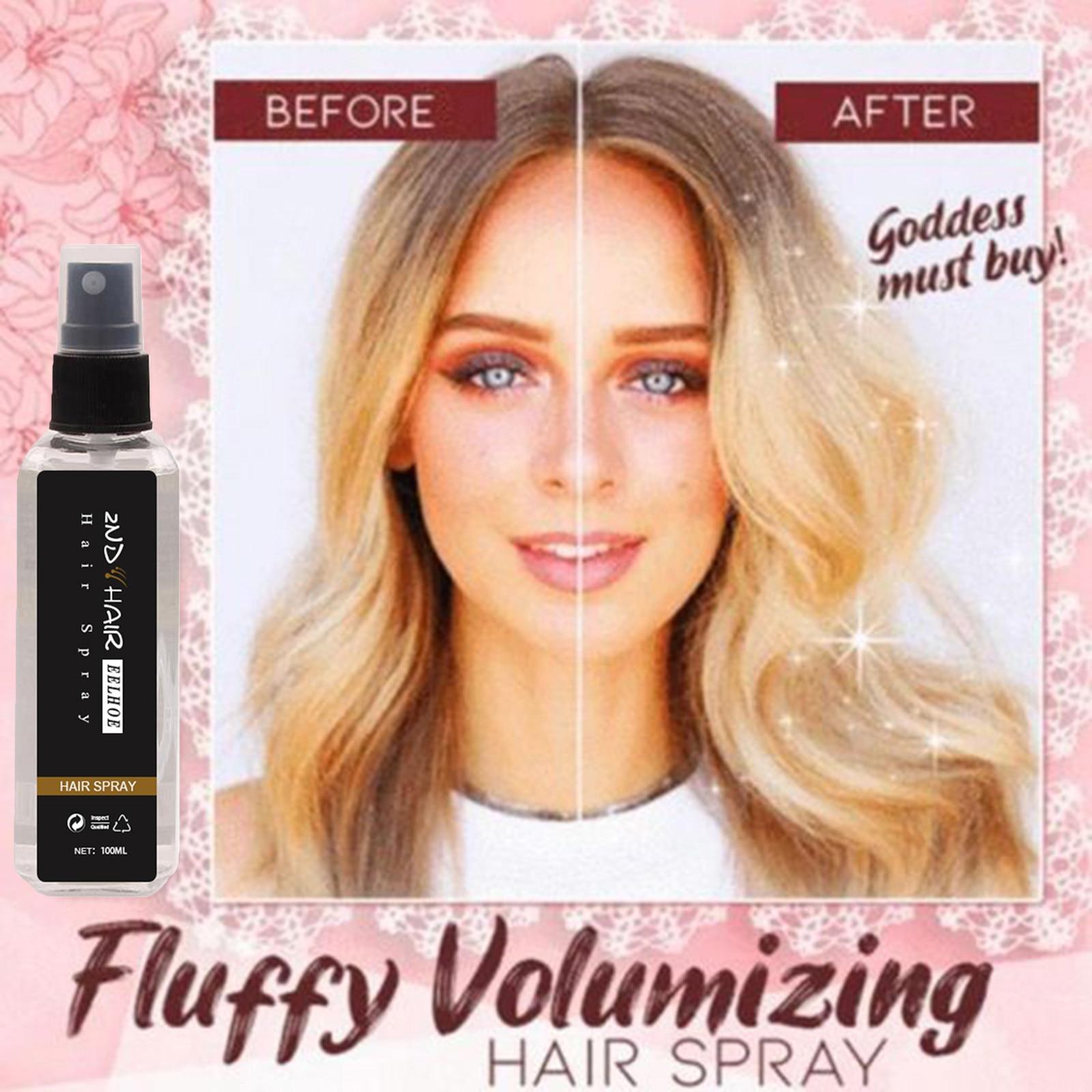 Spray de gel de gran capacidad para estilizar el cabello, pulverizador para...