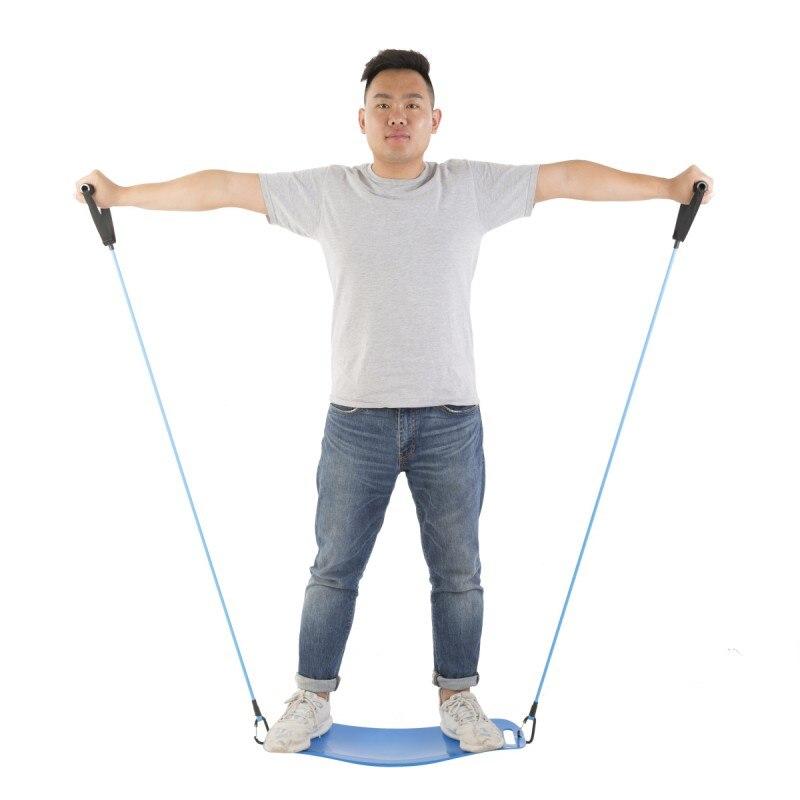 ABS torsión Fitness equilibrio Simple Core entrenamiento Yoga Twister de la formación de los músculos abdominales las piernas de equilibrio de pérdida de peso