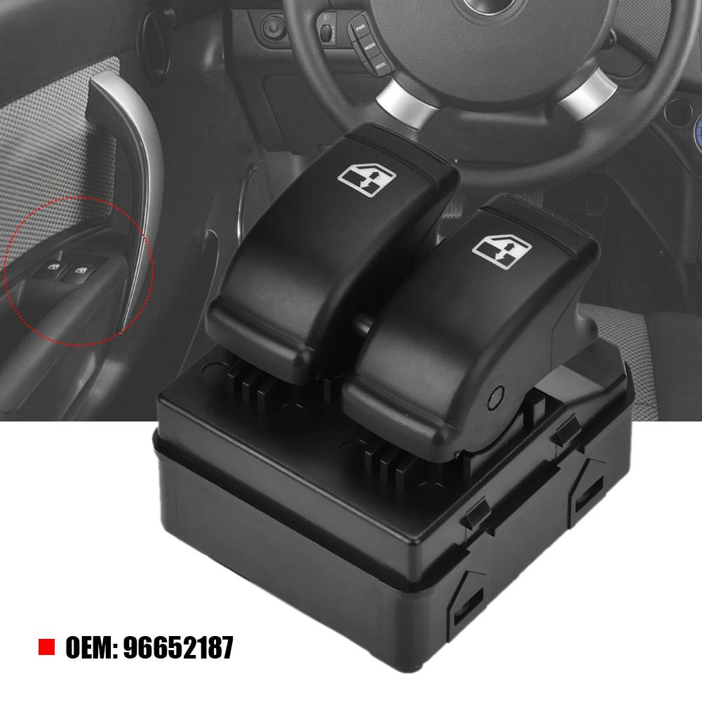 Janela de energia elétrica interruptor controle único para lova aveo barina g3 96652187 araba aksesuar moto automóveis