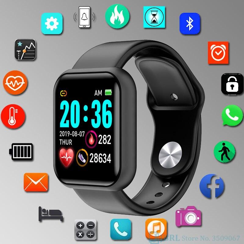 Reloj Digital de moda reloj de pulsera para niños y niñas reloj deportivo para estudiantes reloj Digital LED electrónico para niños horas