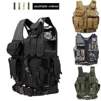 tactical army combat armor vest men outdoor hunting vest military gear airsoft paintball cs wargame body armor