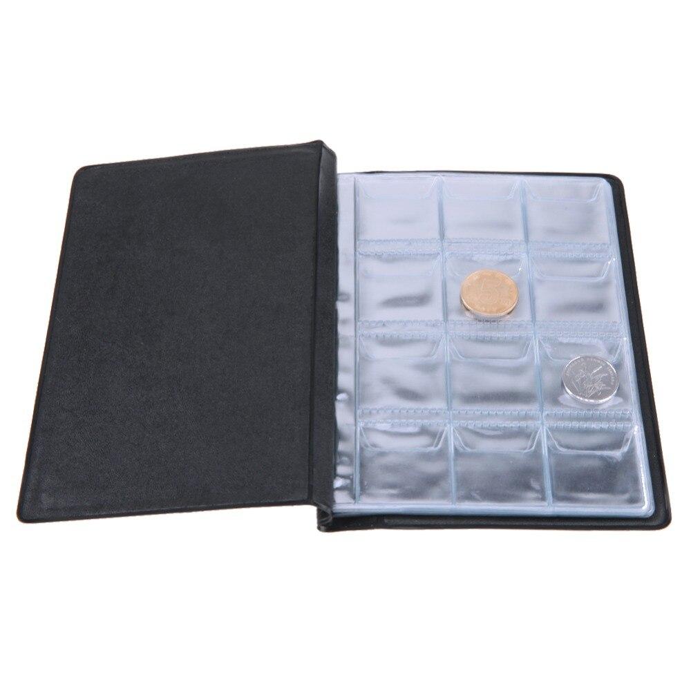 Álbum ruso de monedas y carpeta 120 soportes de colección de monedas almacenamiento Penny bolsillo para dinero álbum caja de libros para monedas regalos