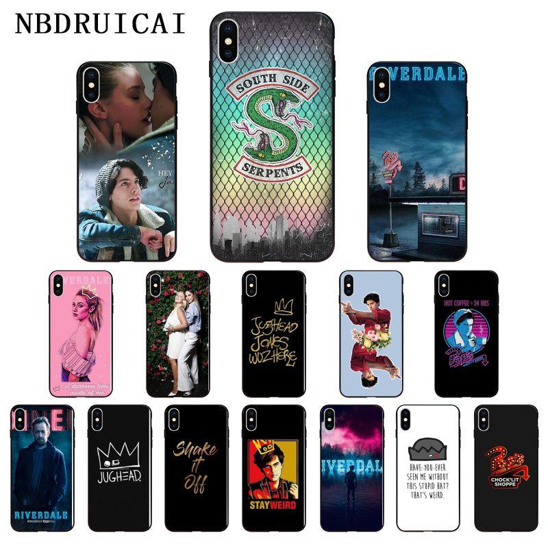 NBDRUICAI americano TV Riverdale serie de silicona suave cubierta de la caja del teléfono para iPhone 11 pro XS MAX 8 7 6 6S Plus X 5 5S SE XR caso