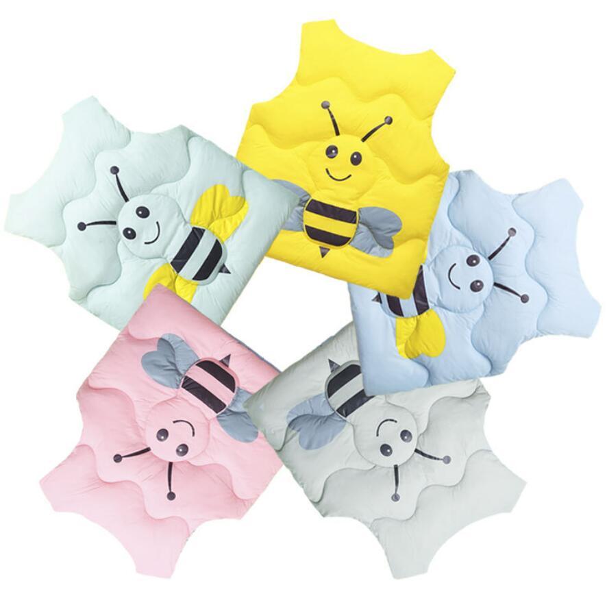 Bebê meninos meninas colete dos desenhos animados abelha bonito crianças colete sem mangas roupas de outono para 1-8t crianças roupa jaqueta quente colete