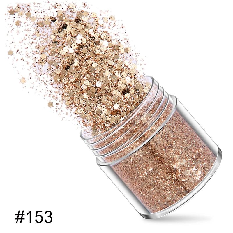 Nail Sequins Flakes Sparkly Nail Decoration Makeup Glitter Multipurpose Rhinestones