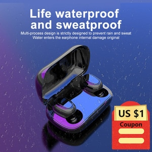 Headphone Bluetooth 5.0 Earbuds L21 Sounds Wireless Handsfree headset Stereo gaming Headphones For iphone xiaomi huawei