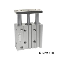 mgpm mgpm100 200z 250z 275z 300z mgpm100 350z mgpm100 400z three axisthin rod cylinder compact guide stable pneumatic