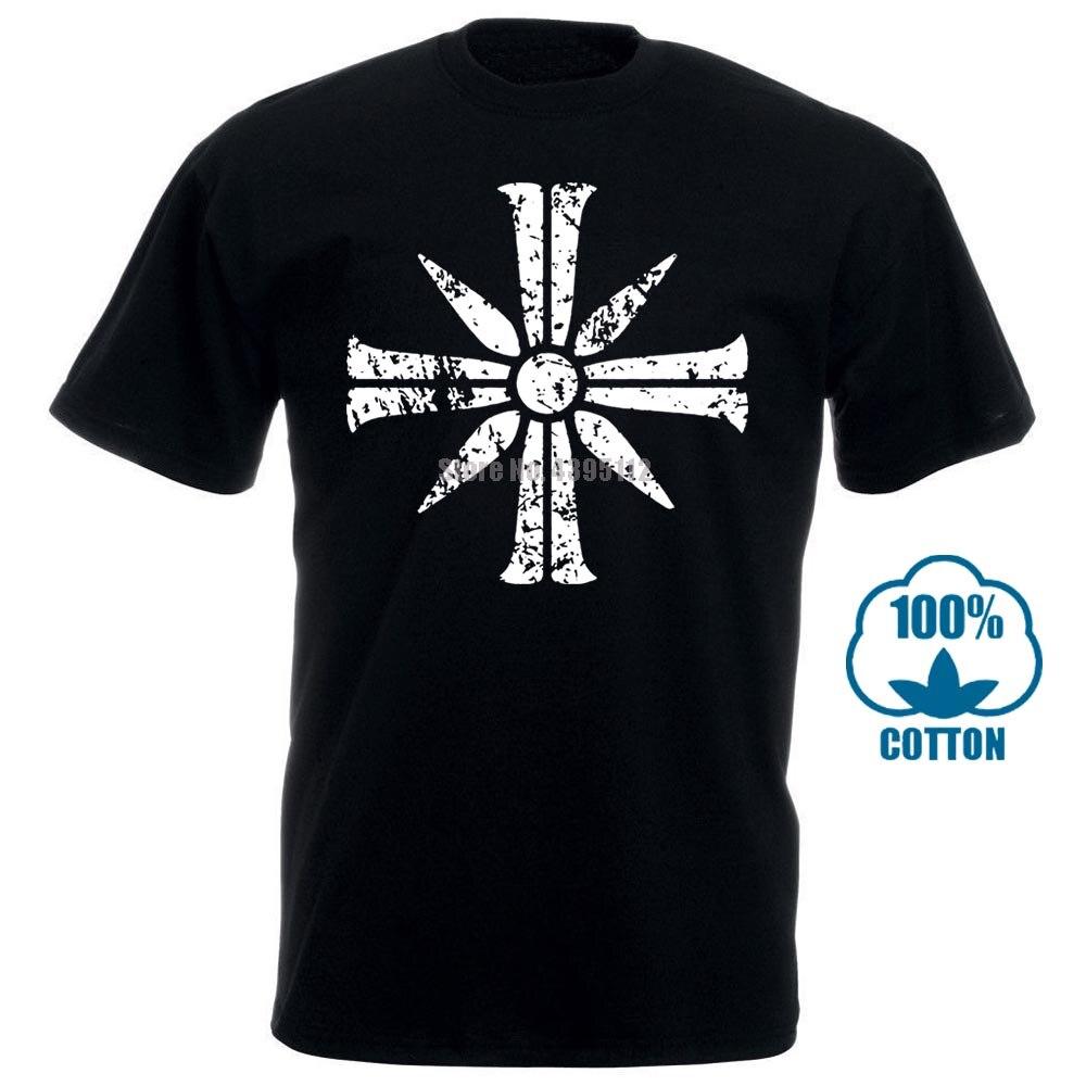Cross Sign desde lejos Cry 5 camisetas Fitness 2018 edificio elegante para hombres cuello redondo Streetwear ocio Anlarach 011536 personalizado