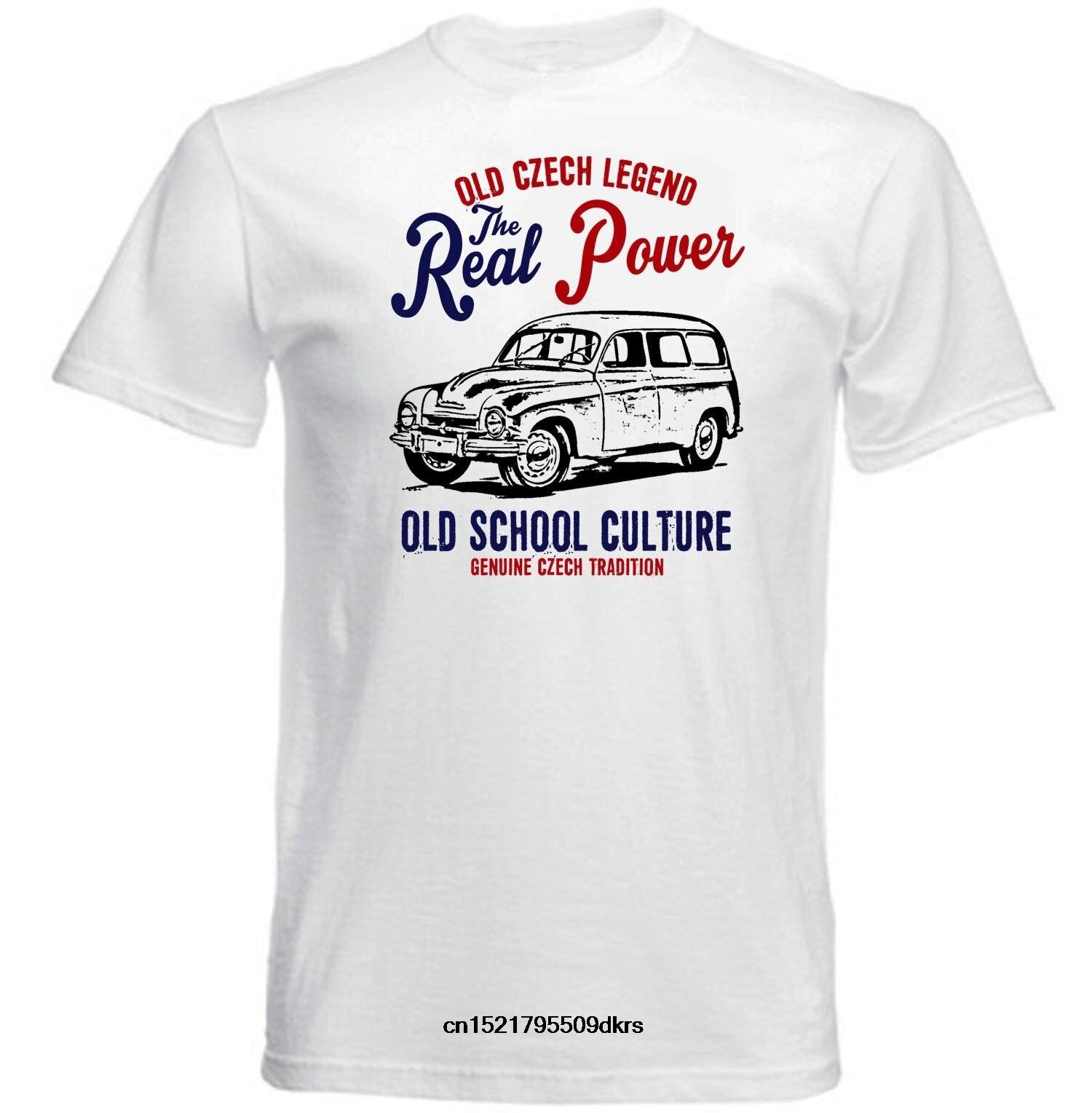 Camisa masculina t moda homem do vintage carro checo skoda 1201 novo algodão legal topos engraçado camiseta novidade camiseta feminina