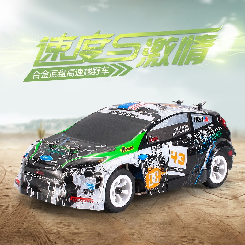1:28 WLtoys K989 30KM/H Electric High Speed Off-Road Drift RC Formula Car 2.4G Remote Control Children Toys Model Gift for Boys enlarge