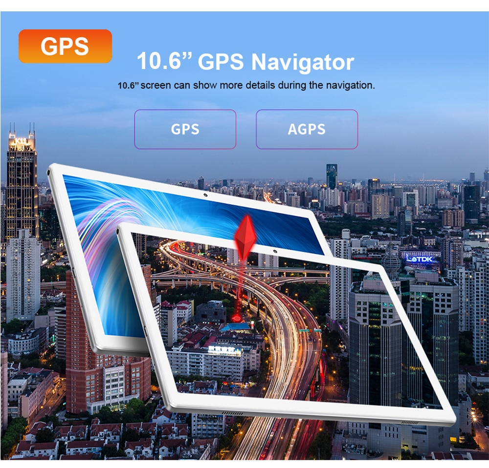 2021 Newest 10.6 Inch Tablet PC MT6797 Deca Core 1920*1280 2.5K IPS Screen 13.0MP Dual 4G Android Tablets GPS Gaming enlarge
