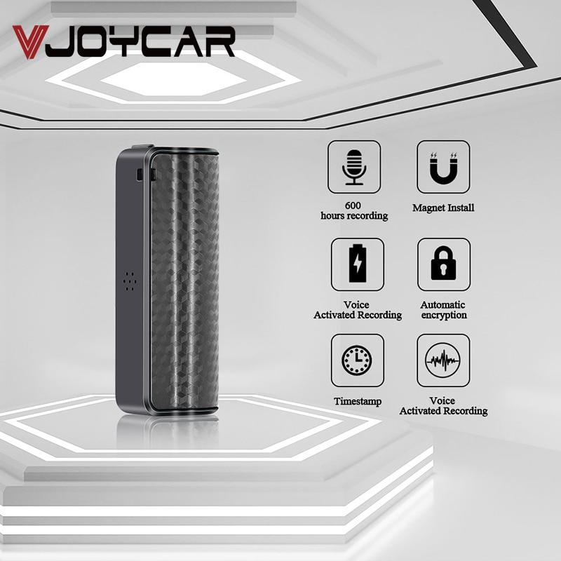 Grabadora de Audio con imán 8G, 16G, grabadora de sonido HD, grabación Digital, 32GB, dictáfono con archivos MP3 de onda