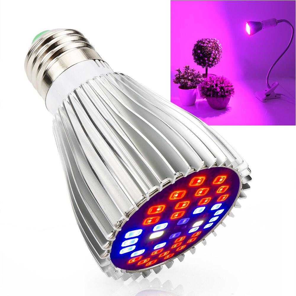 XRYL 10pcs CN DE US UK AU 30W Full Spectrum Indoor Greenhouse Hydroponic LED Grow Light For Plant Seeds Flowers Vegetables enlarge