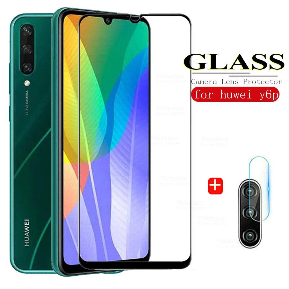 Защитный чехол для Huawei Y6P, роскошные оригинальные чехлы из закаленного стекла для Y6 P Y 6 P, защитная пленка из стекла для телефона с рисунком L29...