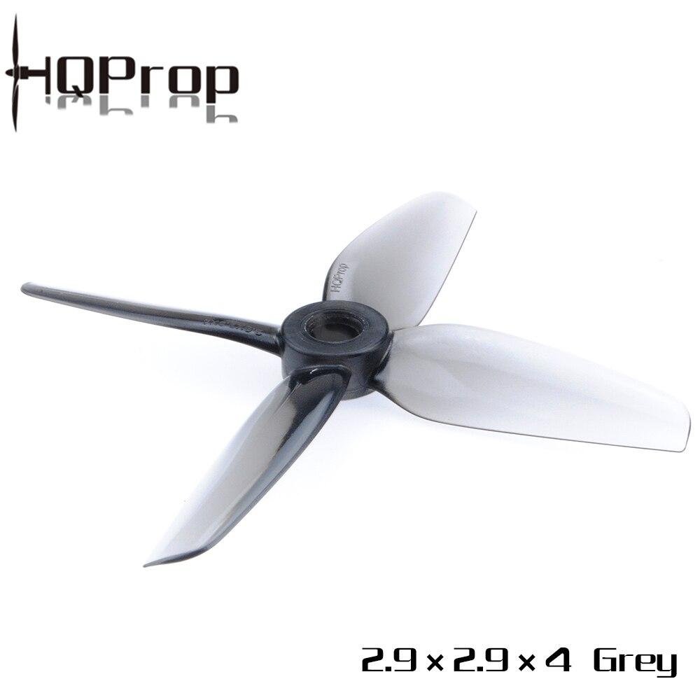 Hélice durável do carbonato poli 35mm 4 da lâmina do suporte 2.9x2.9x4 2929 de hq hqprop para o zangão sem escova do rc da corrida do motor fpv