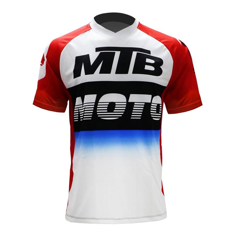 MTB jersey enduro 2020 mountain bike short sleeve downhill jersey motorcycle racing tops motorbike clothing bmx enduro motocross